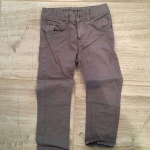 H&M Straight Leg Twill Pants 3T